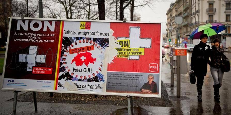 Le vote plonge dans l'inconnu les relations entre la Suisse et l'Europe