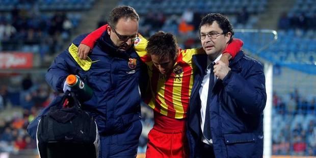 Feu vert médical pour Neymar, de retour contre le Rayo - La DH