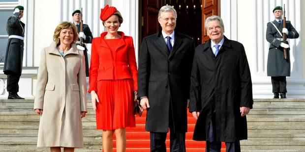 Le roi et la reine à Berlin pour leur première visite officielle en Allemagne - La DH