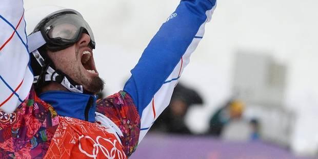 Le Français Pierre Vaultier champion olympique de snowboardcross - La DH