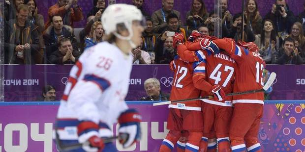Hockey sur glace: Russes, Slovènes, Tchèques et Lettons en quarts - La DH