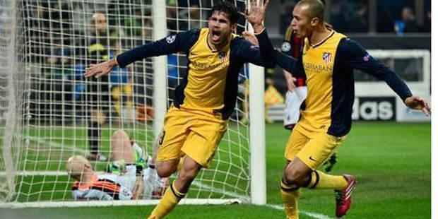 L'Atlético poignarde l'AC Milan (0-1) - La DH