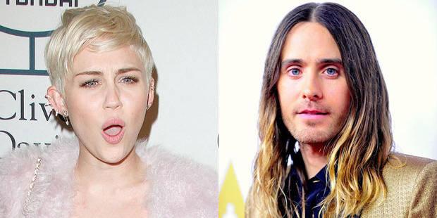 Miley Cyrus et Jared Leto, un peu plus que des amis...