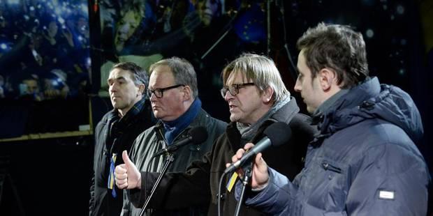 """Verhofstadt aux Ukrainiens: """"C'est l'Europe qui doit vous remercier"""" - La DH"""
