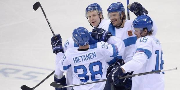 Hockey sur glace: la Finlande décroche le bronze - La DH