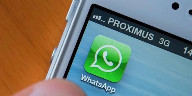 WhatsApp fonctionne à nouveau - La DH