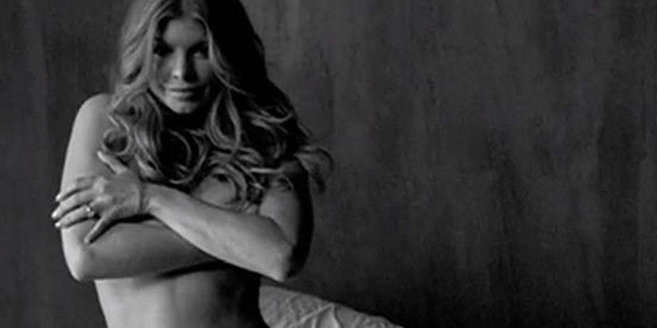 Fergie a déjà retrouvé sa taille de guêpe