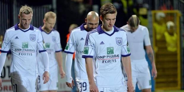 Anderlecht champion des interdits de stade - La DH