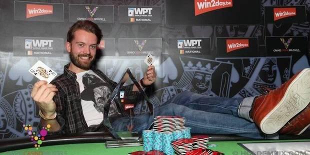 Poker: Le Danois Lasse Frost remporte le WPT bruxellois - La DH