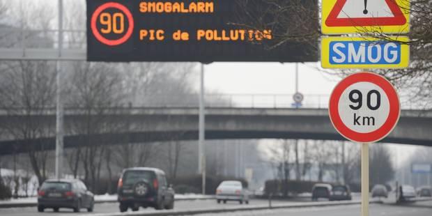 Pollution: limitations de vitesse dès jeudi dans tout le pays - La DH