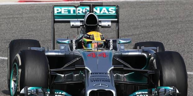 Hamilton roulera avec le numéro...44 - La DH