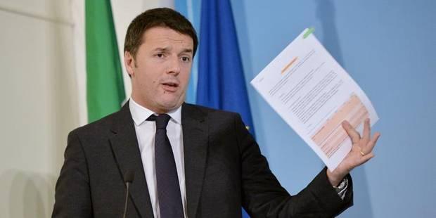 """Renzi annonce une baisse """"historique"""" des impôts pour 10 millions de personnes - La DH"""