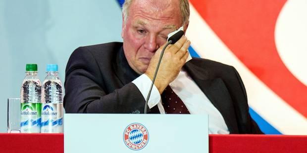 Le président du Bayern Munich condamné à 3,5 ans de prison - La DH