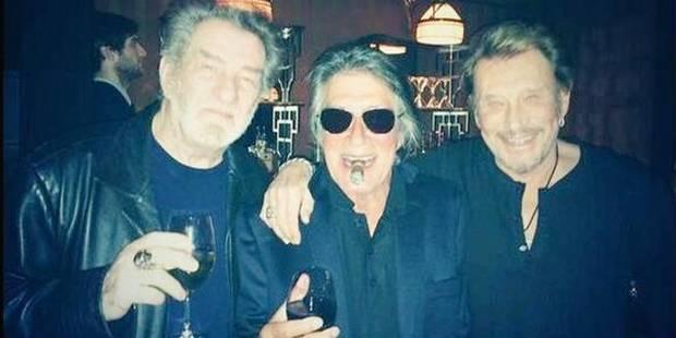 Johnny, Eddy et Jacques Dutronc envisagent des concerts ensemble - La DH