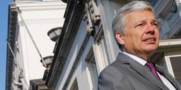 """Ukraine: Reynders appelle à """"une première liste de sanctions"""" - La DH"""