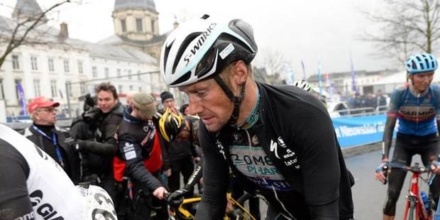 Boonen forfait à Milan - San Remo après la fausse couche de son amie - La DH