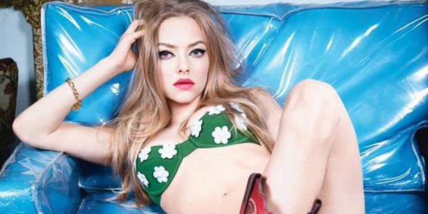 Amanda Seyfried se la joue sexy pour W Magazine - La DH