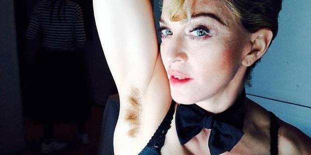 Madonna au poil - La DH