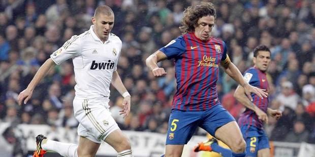 Un Clasico avec Benzema et Piqué mais sans Puyol - La DH