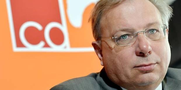 André Antoine, tête de la liste cdH pour la Région en Brabant wallon - La DH