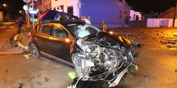 Fontaine-l'Evêque: cinq blessés lors d'une collision frontale - La DH