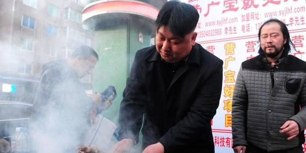 Kim Jong-Un, un sosie chinois aux grillades bien saisies - La DH