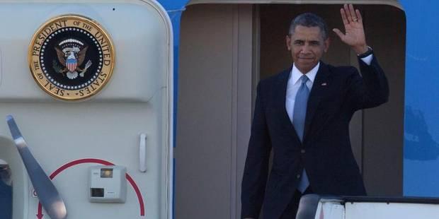 Obama a atterri sur le sol européen - La DH