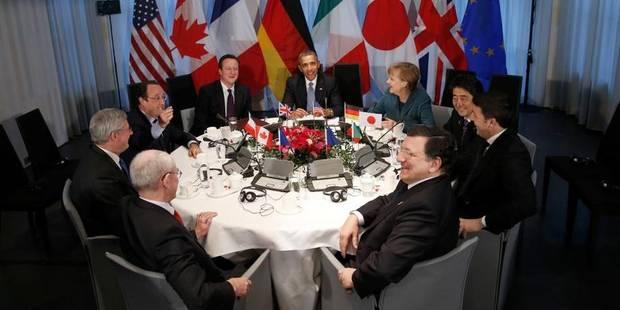 Sommet du G7 à Bruxelles en juin pour remplacer celui du G8 en Russie - La DH