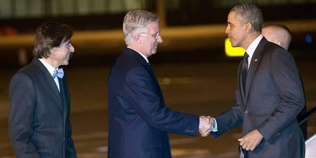L'Obamania atterrit à Bruxelles - La DH
