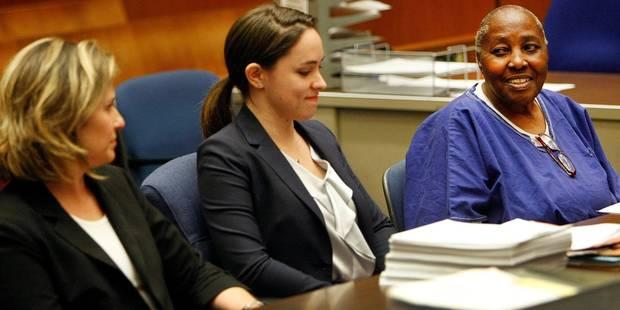 Libre à 74 ans, après 32 ans de prison pour un crime qu'elle n'a pas commis - La DH