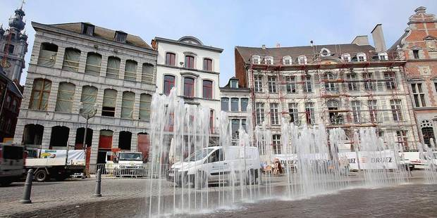 TRAVAUX GRAND PLACE