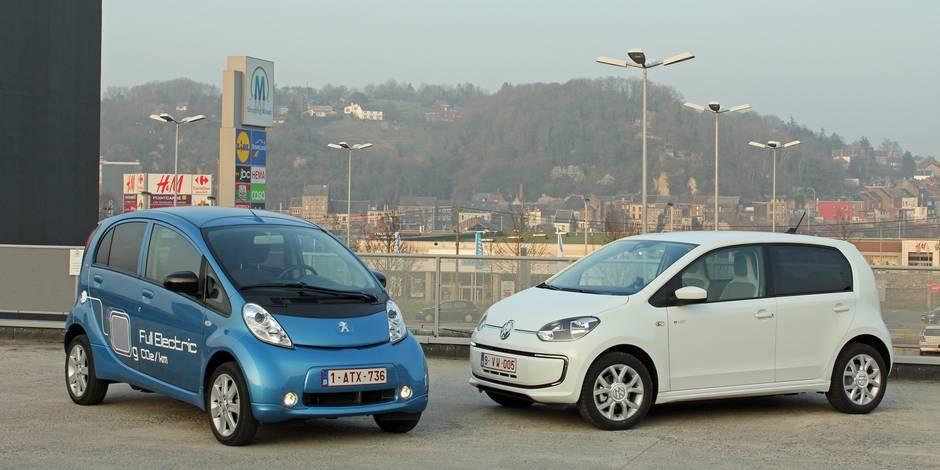 Le match de la semaine: Peugeot iOn vs. VW e-up
