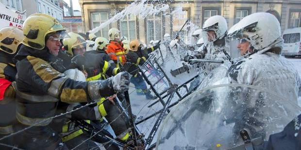 Les pompiers bruxellois ressortiront dans les rues ce mercredi - La DH