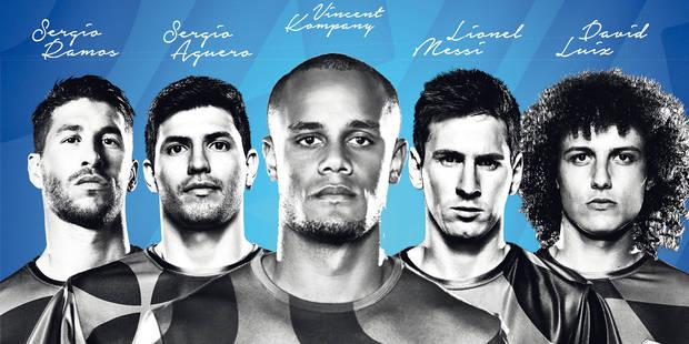 Kompany aux côtés de Messi dans la nouvelle campagne Pepsi - La DH