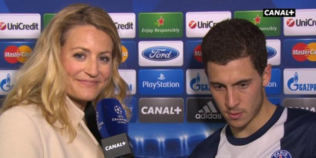 Eden Hazard: un but, un poteau... et le maillot du PSG sur les épaules ! - La DH