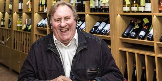 Depardieu transfère des actifs, dont des vignobles, en Belgique - La DH