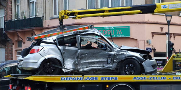 Accident mortel à Molenbeek: l'ex-compagnon de la conductrice activement recherché - La DH