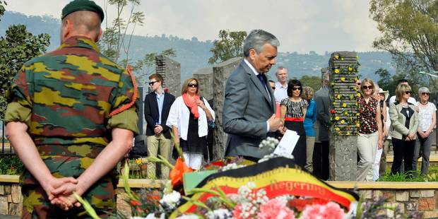 La Belgique rend hommage à ses 22 ressortissants tués au Rwanda - La DH