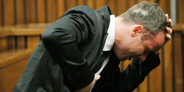 """Pistorius: """"Je n'avais pas l'intention de tuer Reeva"""" - La DH"""