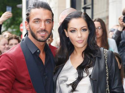 Nabilla And Thomas Leaving the JP Gaultier Show-July-3-Paris