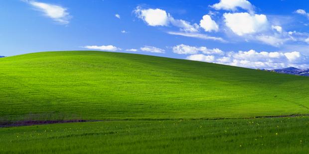 L'origine du célèbre fond d'écran de Windows XP - La DH