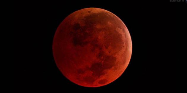 """Une """"lune de sang"""" bientôt dans le ciel"""
