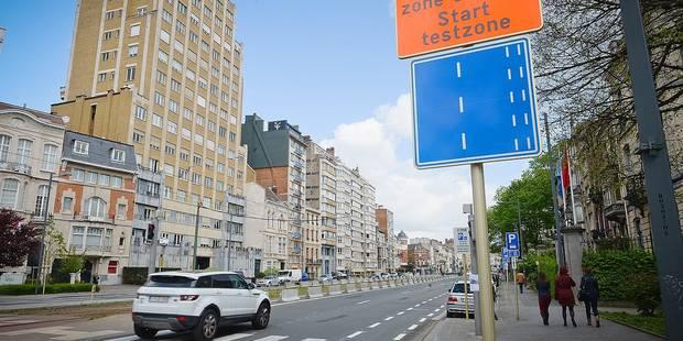 Le boulevard G�n�ral Jacques en test pour 6 mois