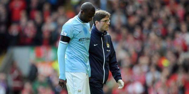 Yaya Toure absent deux semaines, Kompany présent à Sunderland - La DH