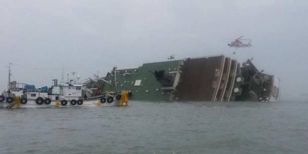 Naufrage mortel d'un ferry rempli de lycéens en Corée du Sud - La DH
