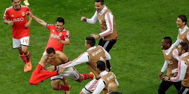Le Benfica remporte son 33e titre de champion du Portugal - La DH