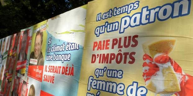 Élections: Le PS devant le MR à Bruxelles et en Wallonie, le PTB monte encore - La DH