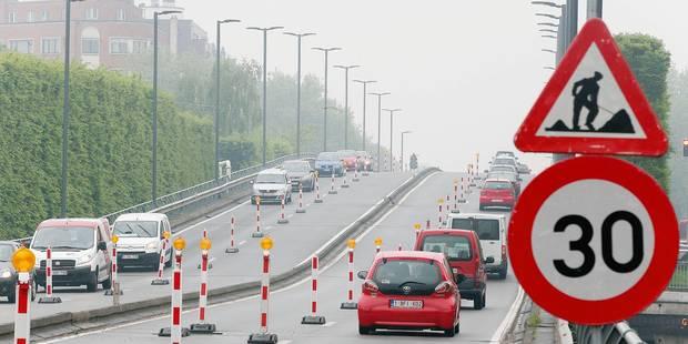 Le viaduc Reyers fermé tout l'été - La DH