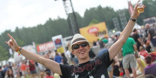 Rock Werchter: un nouveau camping inauguré - La DH