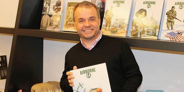 """Bastogne dans le tome 5 d'""""Airborne 44"""" - La DH"""